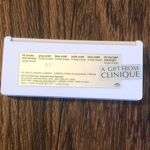 Clinique Makeup - Clinique Makeup Bag and 2 Eyeshadow Palettes